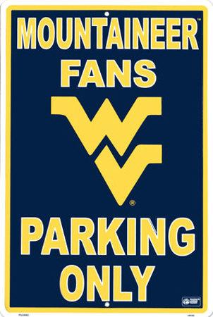 University  of West Virginia Tin Sign