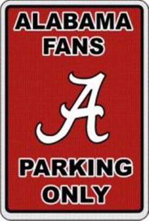 University of Alabama Tin Sign