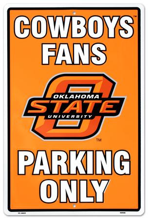 Oklahoma State University Tin Sign