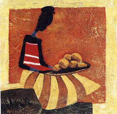 Tribal Fashion III Prints by  Yinka