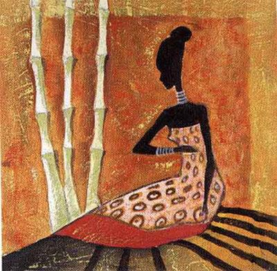 Fashion  Prints on Tribal Fashion Ii Art Print