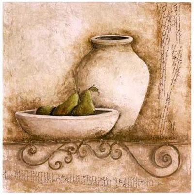 Pot et Poires Art by Véronique Didier-Laurent
