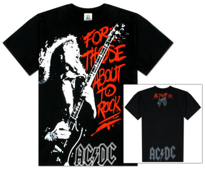 AC/DC – Those About To Rock Shirts