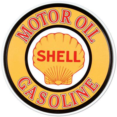 Shell Gas & Oil Metal Tabela