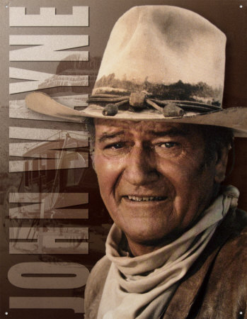 John Wayne Stagecoach Tin Sign at AllPosters.