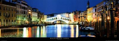 Rialto Bridge, Venice Prints by John Lawrence