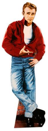 James Dean, Porträt Pappfiguren