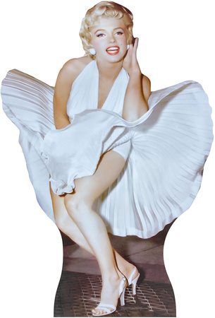 Marilyn Monroe 7 year Itch Lifesize Standup Cardboard Cutouts