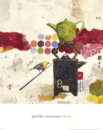 Chime Print by Jennifer Rasmusson