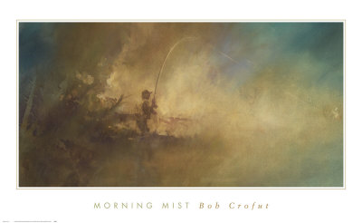 Morning Mist Art by Bob Crofut