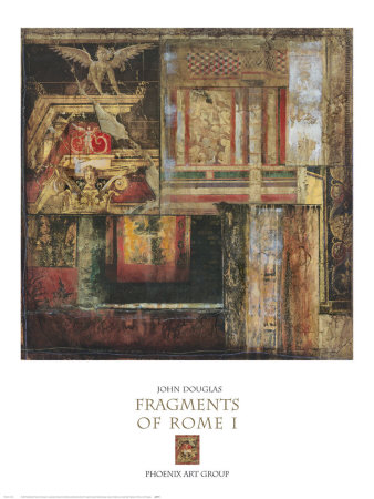 Fragments of Rome I Posters by John Douglas