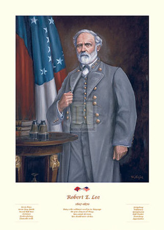 robert e lee. General Robert E. Lee Art