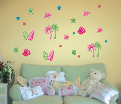 Sweet Summer Fun Wall Decal