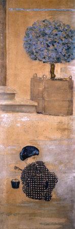 Playing with Puddles Láminas por Pierre Bonnard