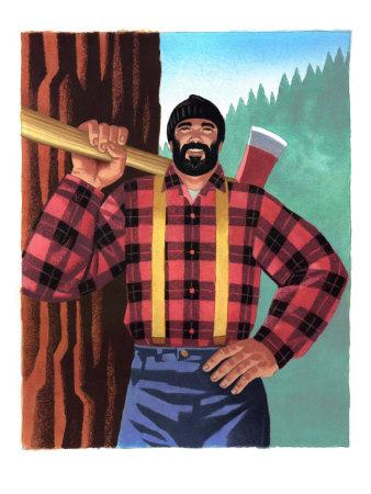 abscence perdasse (en pause : travail + nouveau papa) Lumberjack-with-axe
