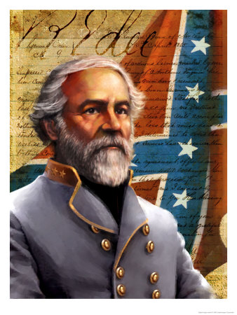 Général Robert E. Lee Reproduction d'art