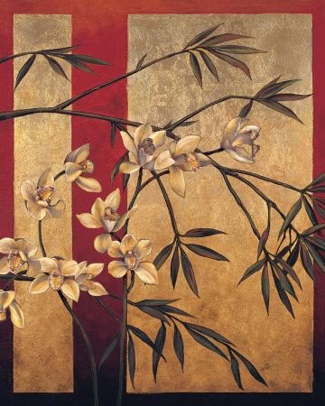 Orchid Screen Art by Jill Deveraux