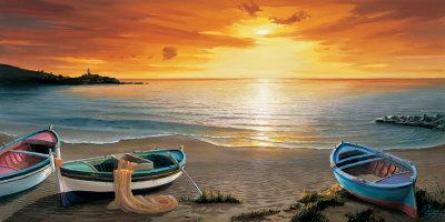 Al Calar del Sole Affischer av Adriano Galasso