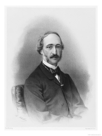 Alexandre-Edmond Becquerel French Physicist in 1865 Giclee Print by C. Fuhr