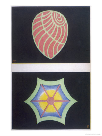 Thought-Forms: Sympathy and Love for All Premium Giclee Print by Annie Besant