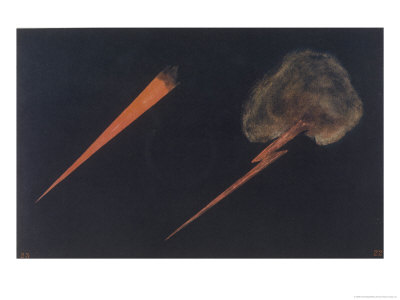 Thought-Forms: Murderous Rage Giclee Print by Annie Besant