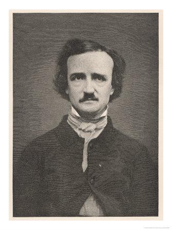 Edgar Allan Poe, Giclee Print