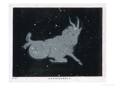 The Constellation of Capricorn Giclee Print by Charles F. Bunt at ...