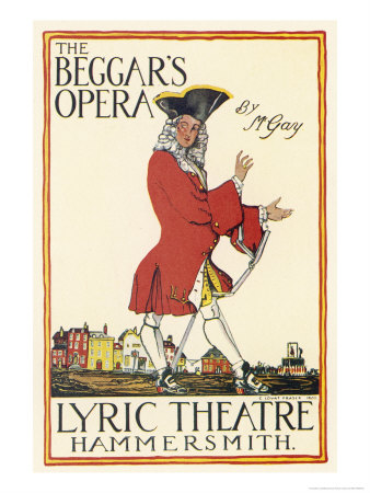 Poster for Production at the Lyric Theatre Hammersmith Premium Giclee Print by Charles Lovat