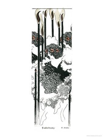 Torch Dance Giclee Print by Will H. Bradley
