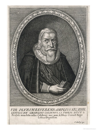 Georg Calixtus German Lutheran Theologian Giclee Print by P. Aubry
