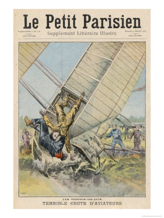 Orville Wright Crashes at Fort Meyer Usa Giclee Print by  Carrey