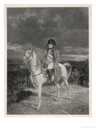 Napoleon I in 1814 Giclee Print by J.l. Meissonier