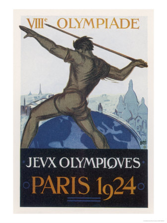 Poster for the Paris Olympiad Premium Giclee Print by  Orsi