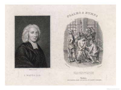 Isaac Watts Divine and Writer Giclee Print by Robert Graves