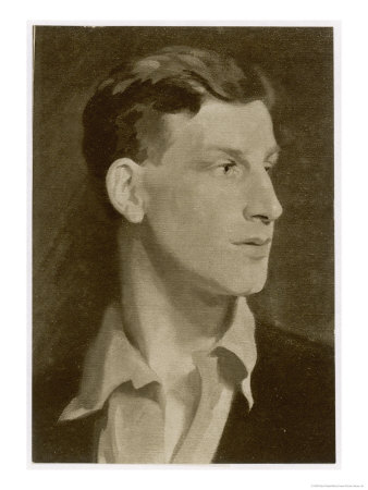 Siegfried Sassoon English Writer of Poetry and Prose Premium Giclee Print by Glyn Philpot