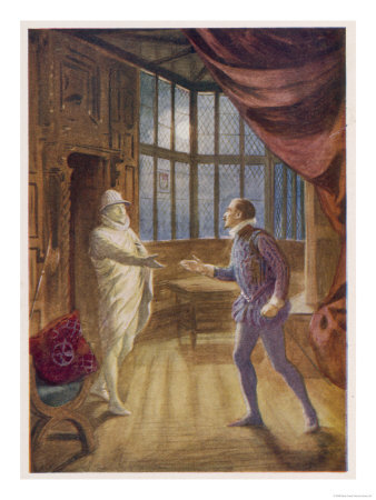 """Don Giovanni"" the Commendatore Accepts the Don's Supper Invitation Giclee Print"
