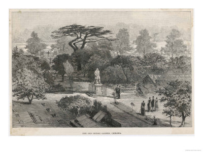 The Old Physick Garden Chelsea London reproduction procédé giclée