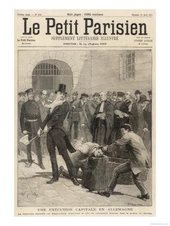 Beheading Berlin Premium Giclee Print