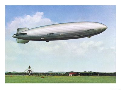 LZ 130 Graf Zeppelin II Giclee Print at AllPosters.