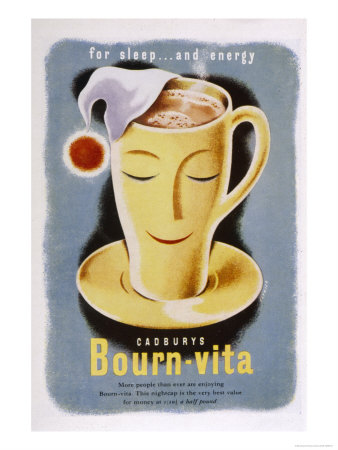 Cadbury's Bourn-Vita for Sleep and Energy Giclee Print