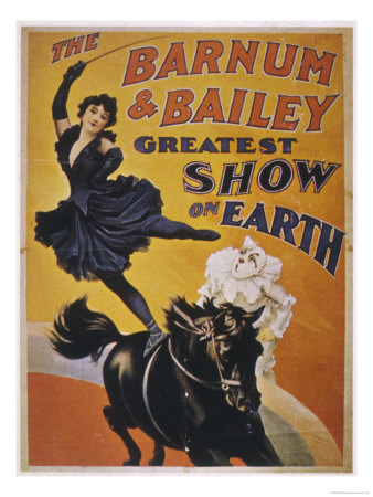 Poster for Barnum and Bailey's Circus Premium Giclee Print