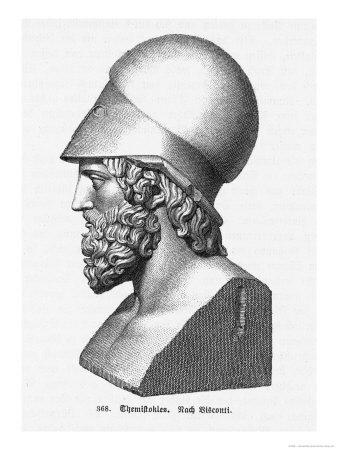 Themistocles Athenian Military Commander and Statesman Giclée-Druck von L. Visconti
