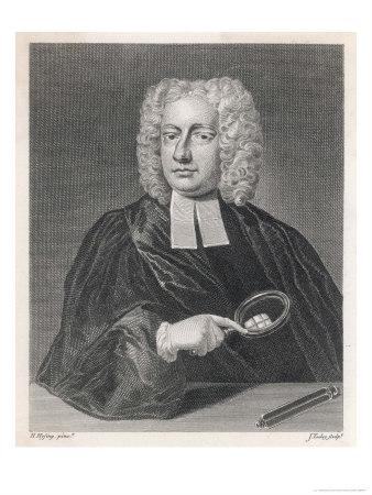 John Theophilus Desaguliers Premium Giclee Print by J. Tookey