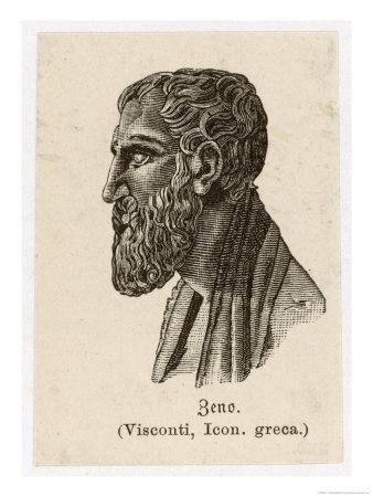 Zenon of Elea Greek Philosopher Giclée-Druck von L. Visconti