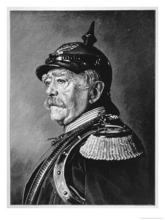 Otto Eduard Leopold Bismarck Premium Giclee Print by Fritz Werner