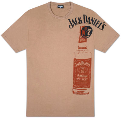 Jack Daniel's - Side Bottle T-Shirt