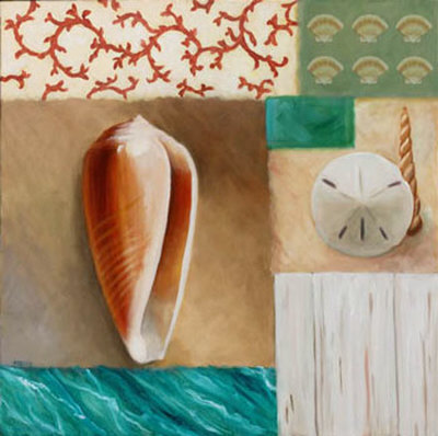Shell Collage I Prints by David Marrocco