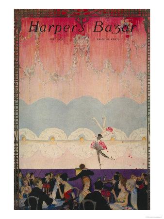Harper's Bazaar, July 1916 Art