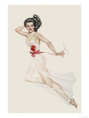 Varga Girl, February 1943 Posters by Alberto Vargas