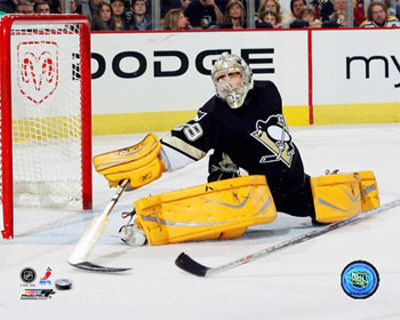 Marc-Andre Fleury - '06 / '07 Home Action Photo